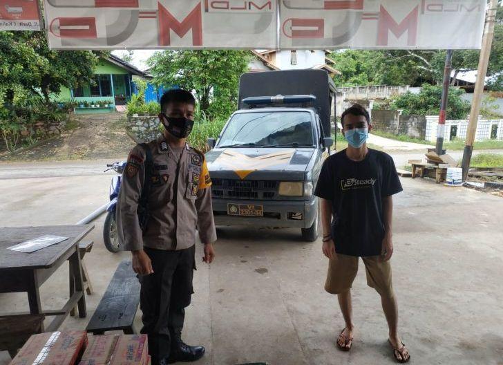 Photo of Cegah Kriminalitas, Polisi Polsek Menyuke Patroli Siang
