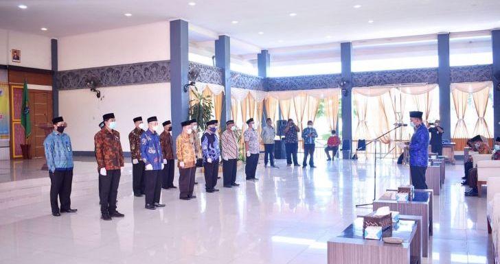 Pelantikan Pengurus BWI Sintang, Kabag Kesra: Emban Tugas Secara Profesional