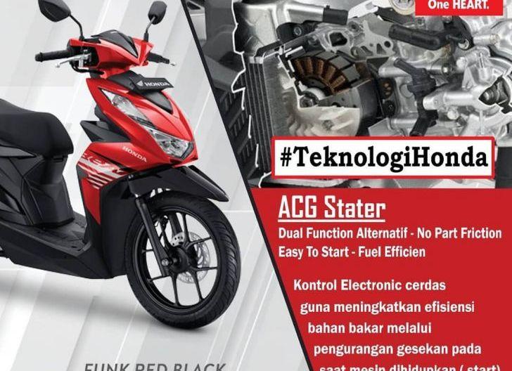Photo of Ini Fungsi Teknologi ACG Starter pada Sepeda Motor Honda