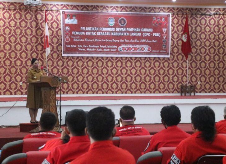 Photo of Pelantikan DPC PBB Landak, Bupati Ajak Jaga Persatuan