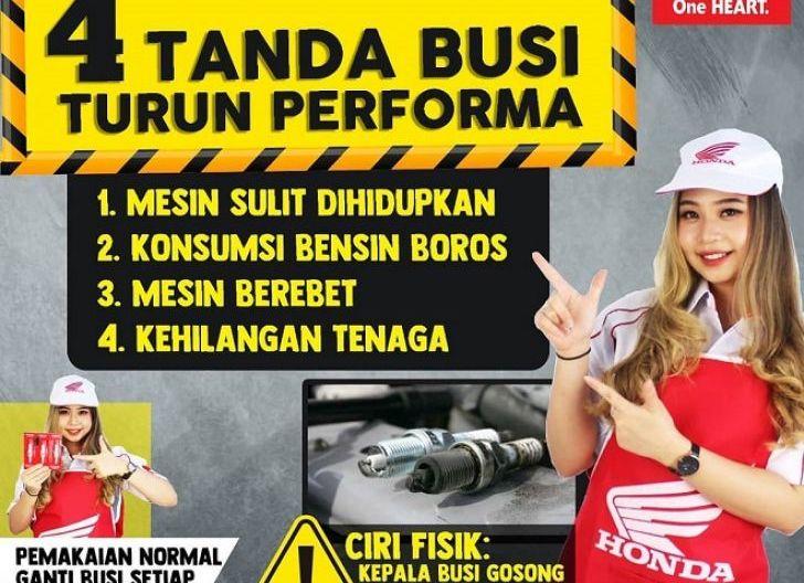 Photo of Gunakan Busi Honda Genuine Parts