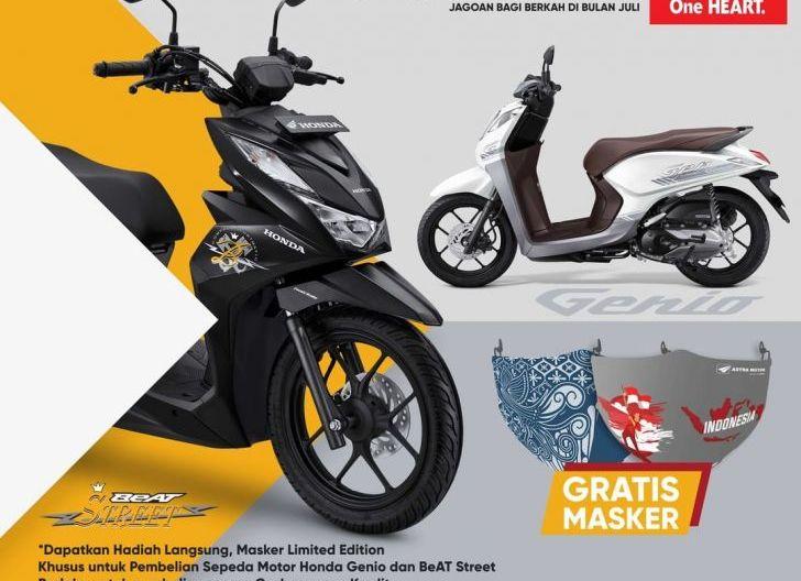 Photo of Promo Honda BeAT Street dan Genio Astra Motor Kalbar