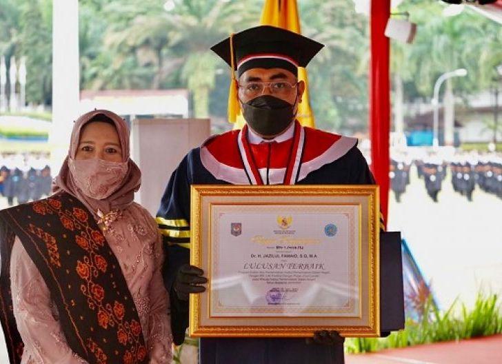 Photo of Wakil Ketua MPR Jazilul Fawaid, jadi Wisudawan Terbaik Program Doktor IPDN 2021