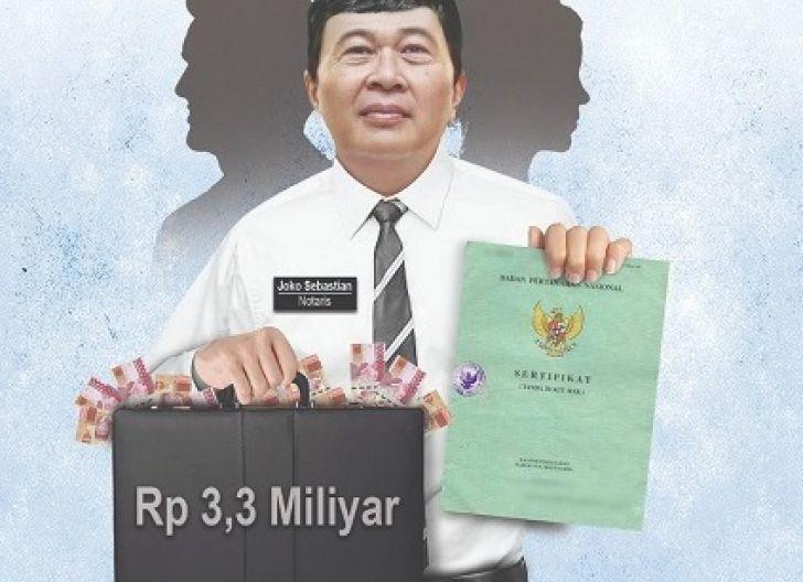 Photo of Anak Jenderal Polisi Ditipu Notaris, Diduga Melakukan Persekongkolan Jahat dengan Pengusaha Developer Uang Rp 3,3 M Raib
