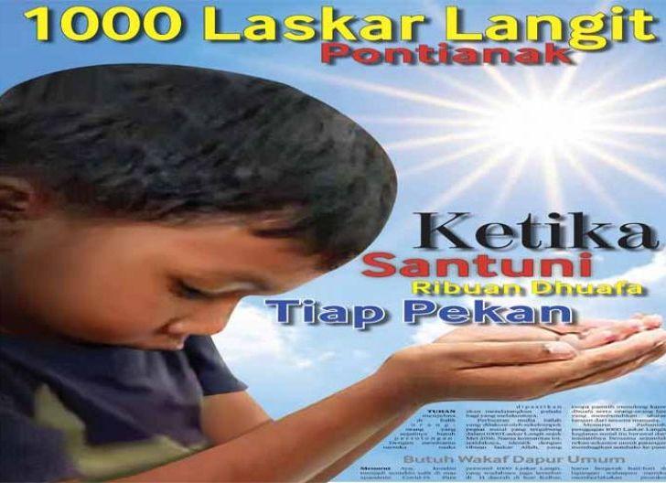 Photo of 1000 Laskar Langit Ketika Santuni Ribuan Dhuafa tiap Pekan