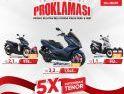 Kejutan Beli Honda Makin Seru dan Hepi dari Astra Motor Kalbar lewat Promo Proklamasi, untuk Pelanggan di Putussibau