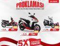 Promo Proklamasi, Kejutan Beli Honda Makin Seru dan Hepi dari Astra Motor Kalbar untuk Pelanggan di Melawi