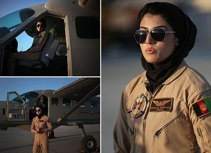 Photo of Niloofar Rahmani, Pilot Wanita Afghanistan:  Taliban, Mimpi Buruk Perempuan!