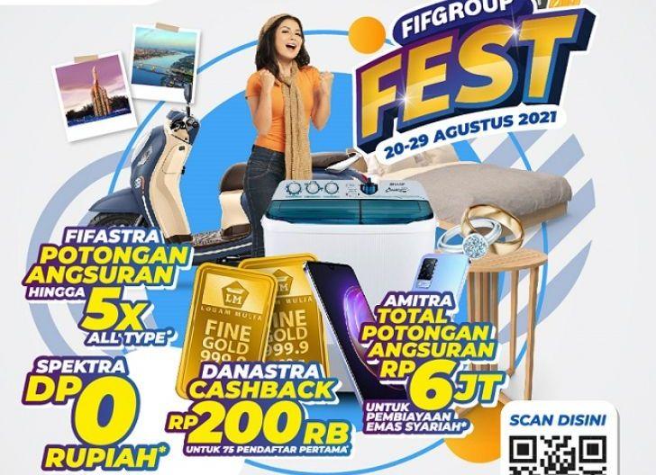 Photo of FIFGROUP FEST Pontianak, Hadirkan Promo Spesial dengan Beragam Keuntungan