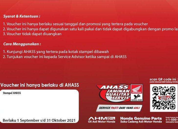 Photo of Astra Motor Beri Penawaran Spesial Merdeka Bersama Ahass, Gratis Cek Kondisi Sepeda Motor