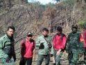 Cek Hutan Adat, Babinsa Koramil Air Besar Patroli Bersama BKSDA
