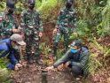 Kapoksahli Pangdam XII/Tpr dan Tim Survei BNPP Kunjungi Sektor Timur Perbatasan Kalbar