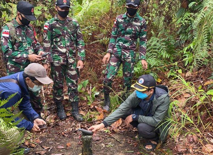 Photo of Kapoksahli Pangdam XII/Tpr dan Tim Survei BNPP Kunjungi Sektor Timur Perbatasan Kalbar