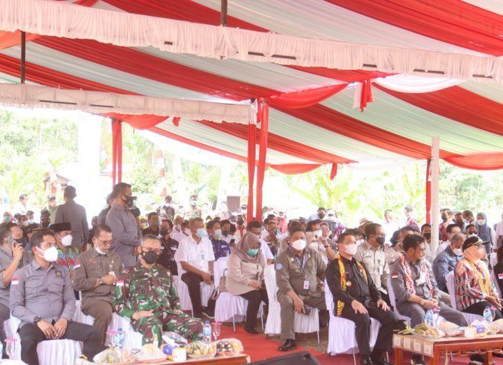 Photo of Kasdam XII/Tpr Sambut Kunjungan Kerja Menteri Pertanian di Mempawah