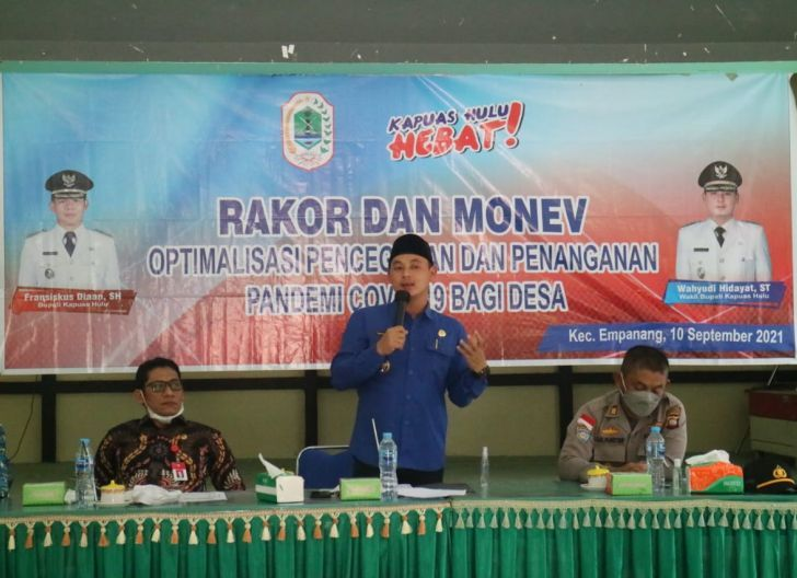 Photo of Wahyu Pimpin Rakor-Monev Optimalisasi Covid-19 di Empanang