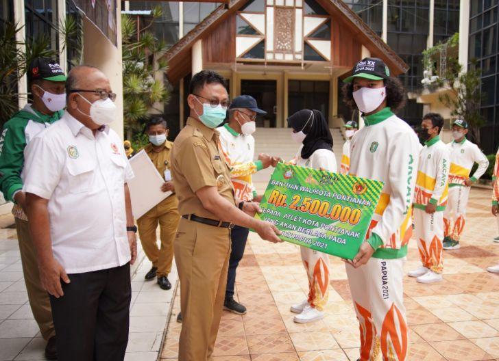 Photo of 32 Atlet Asal Pontianak Menuju PON XX Papua