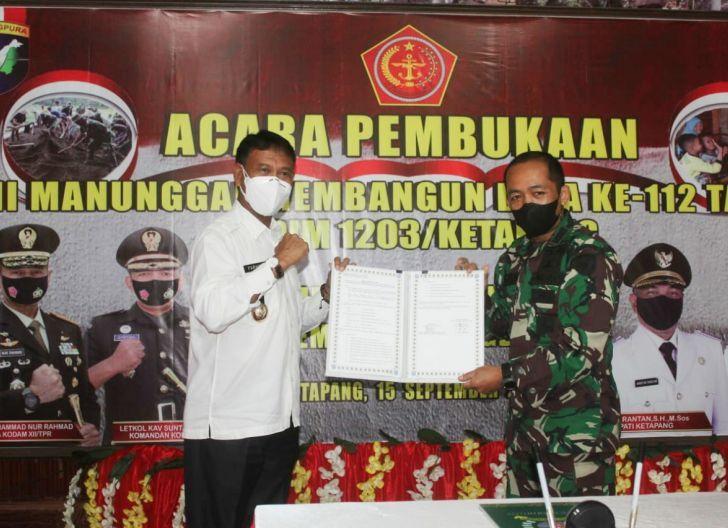 Photo of Kodam XII/Tpr Gelar TNI Manunggal Membangun Desa ke-112, Sinergi Bangun Negeri Lewat Pengabdian TNI AD di Pedesaan