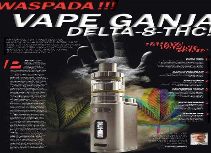 Photo of Waspadai Vape Ganja Delta-8-THC!