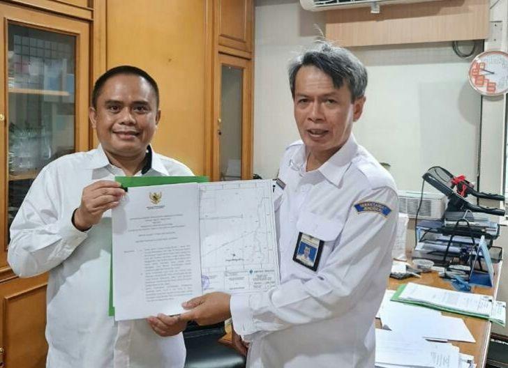 Photo of Wabup Terima Penetapan Lokasi Bandara KKU dari Kementerian Perhubungan