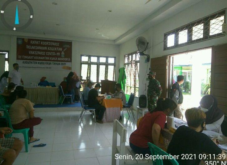 Photo of Babinsa Koramil 1207-06/Sungai Ambawang Laksanakan Rakor Penyelesaian Tunggakan Dana Simpan Pinjam Perempuan