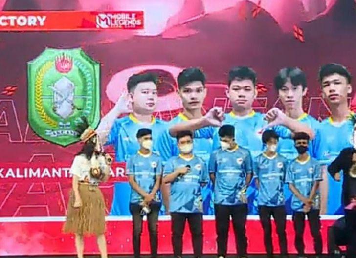 Photo of Pertandingan Pertama, Tim Mobile Legends Kalbar Kalahkan Sumsel 2-0