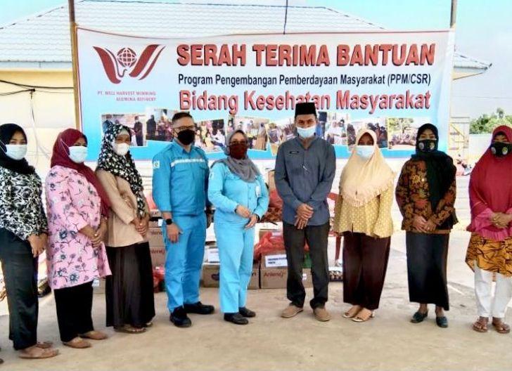 Photo of Atasi Kesulitan Masyarakat Menghadapi Pandemi, CSR PT WHW Fokuskan Bantuan Kesehatan, Pendidikan dan Kemandirian Ekonomi Masyarakat