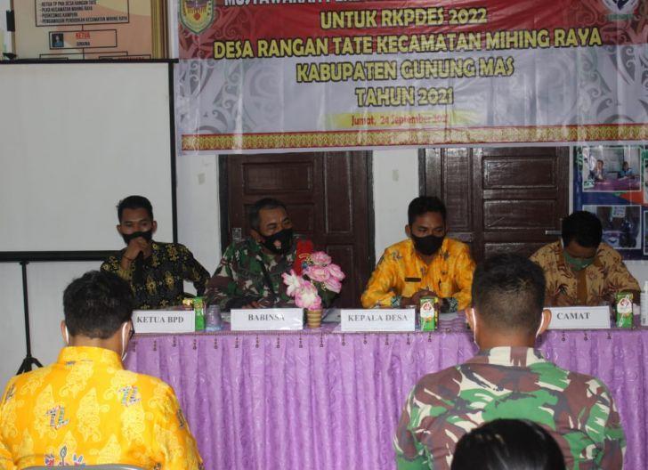 Photo of Anggota TMMD Diundang Rapat Musrenbang Desa Rangan Tate