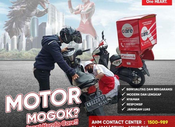 Photo of Motor Mogok di Jalan, Segera Manfaatkan Layanan Honda Care