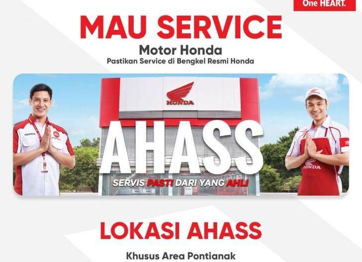 Photo of Mau Servis Motor Honda, Segera Saja ke AHASS Astra Motor Kalbar