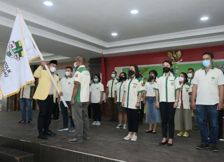 Photo of Pengurus Pemuda Katolik Komcab Sanggau Dilantik, Antonius: Ormas Partner Pemerintah Membangun Daerah
