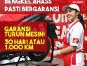 """AHASS Pelayanan After Sales dengan Tagline """"Servis Pasti Dari yang Ahli"""" untuk Motor Honda"""