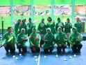 Tumbuhkan Kebersamaan, Ketua Persit KCK Koorcab Rem 121 ajak Seluruh Pengurus Olahraga Bersama