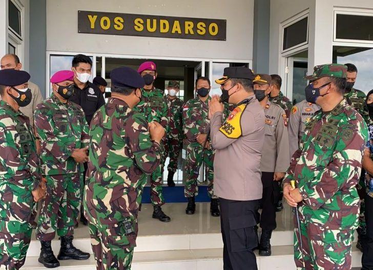 Photo of Bukti Sinergitas TNI-Polri, Lantamal XII Terima Kunjungan Dadakan dari Polres Mempawah