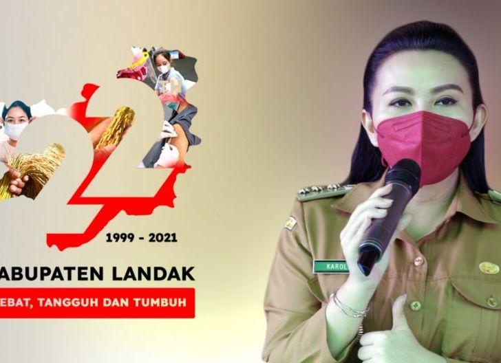 Photo of Pemkab Landak Rilis Logo Resmi HUT ke-22 Kabupaten