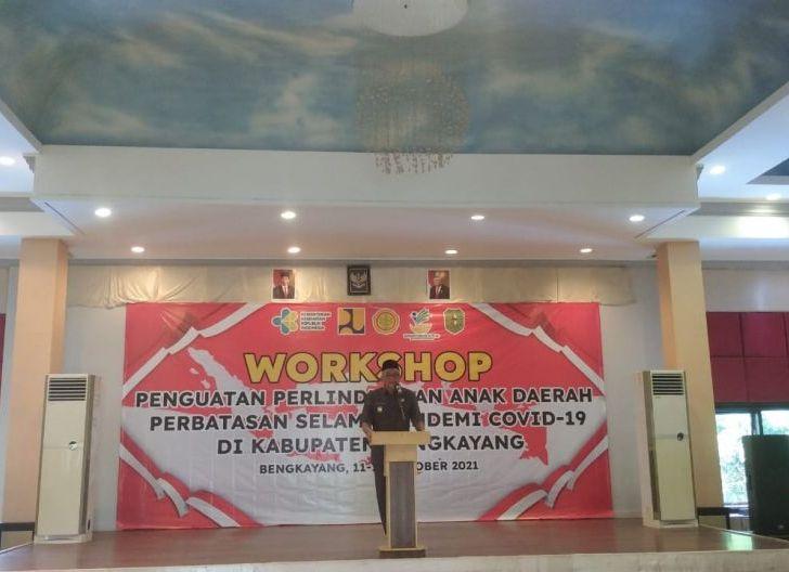 Photo of Pemkab Gelar Workshop Penguatan Perlindungan Anak Daerah Perbatasan