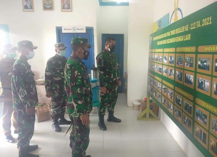 Photo of Tim Wasev Mabes TNI Tinjau dan Cek Pelaksanaan TMMD Reguler Ke-112, Kodim 1203/Ketapang