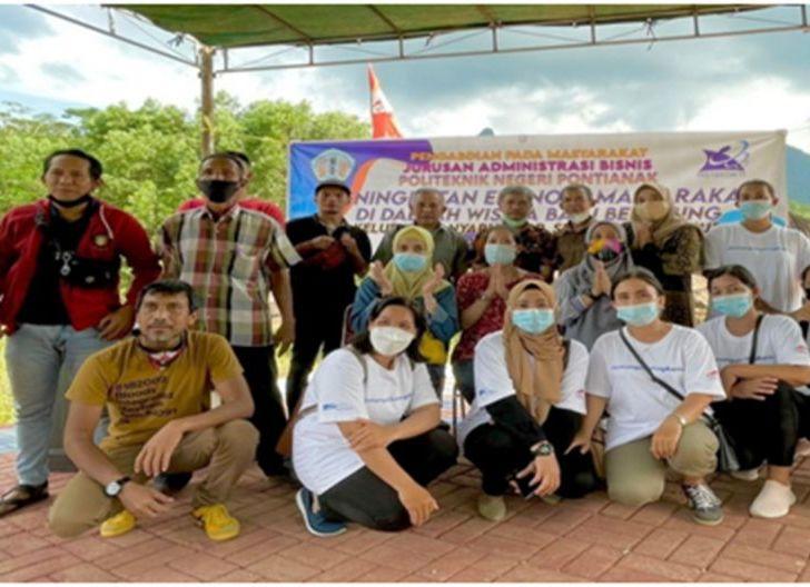 Photo of PKM Polnep di Daerah Wisata Batu Belimbing, Gelar Penyuluhan dan Pelatihan Membatik
