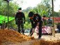 Upacara Pemakaman Prada Petrus Jaka Secara Militer Dipimpin Danrem 121/Abw