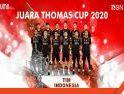 BNI Kalbar Ucapkan Selamat untuk Juara Thomas Cup 2020